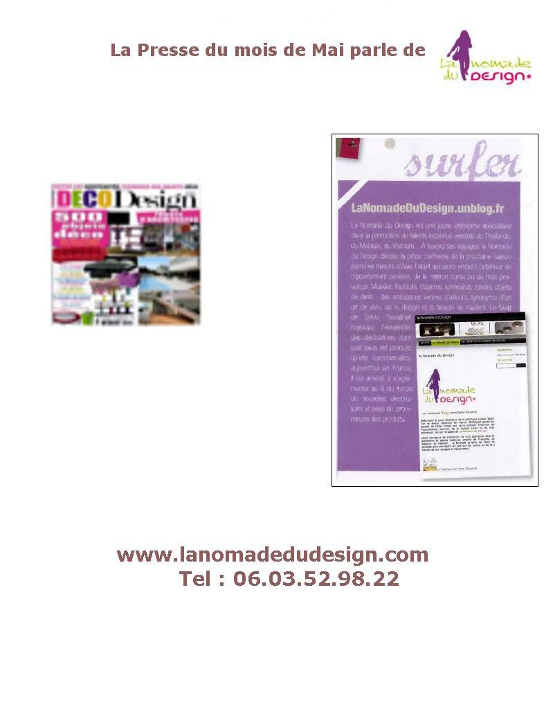 Presse2 La Nomade du Design